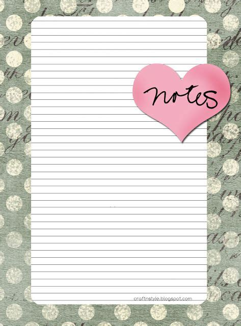 free cute printable notebook paper 17 best images about lined paper on pinterest journal