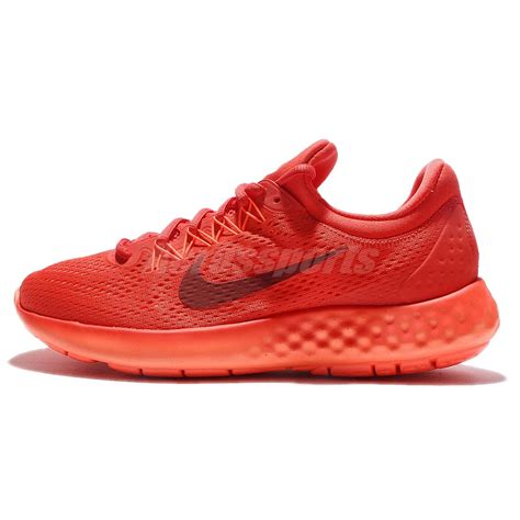 nike lunar skyelux orange running shoes sneakers trainers 855808 800 ebay