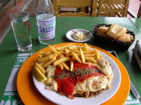 This Milanesa picture was taken in Punta del Este Uruguay Uruguayan Milanesa