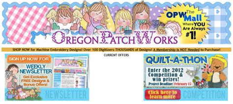 Oregon Patchworks - opw embroidery release date price and specs