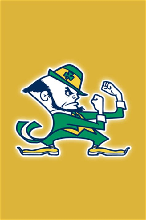 notre dame fighting irish iphone ipod touch wallpapers