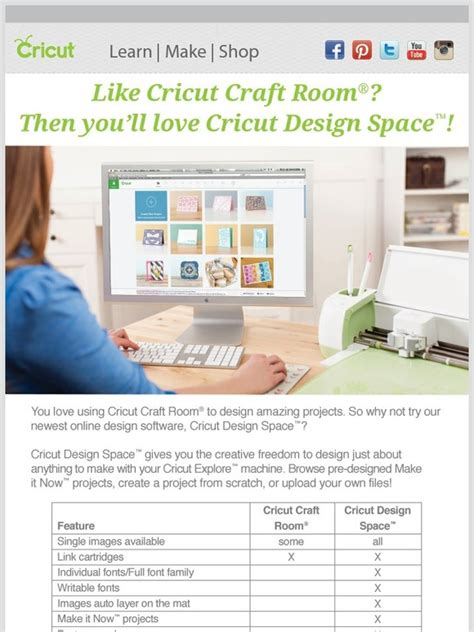 cricut craft room login cricut cricut design space vs cricut craft room milled