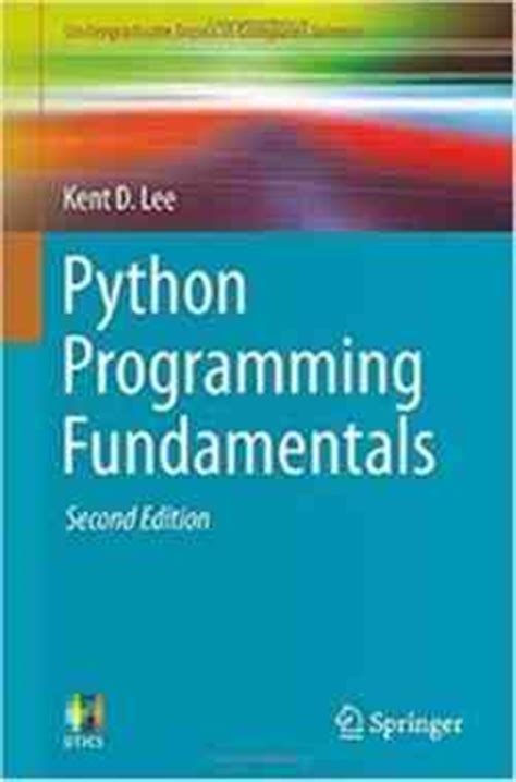 fundamentals of python programs books python programming fundamentals 2nd edition pdf