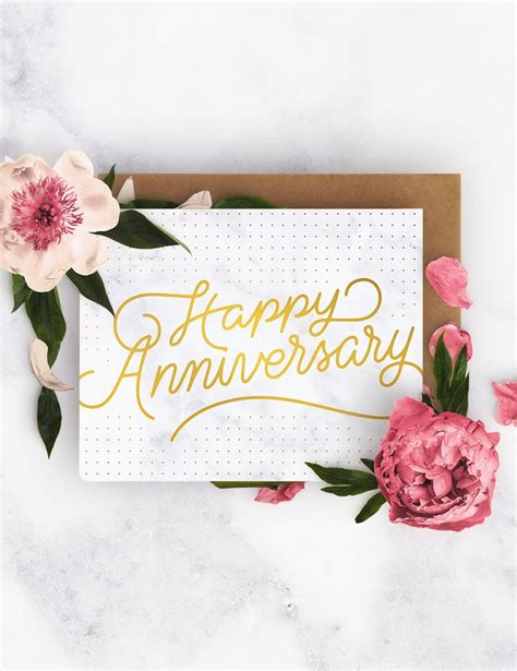 happy anniversary letterpress greeting card bespoke