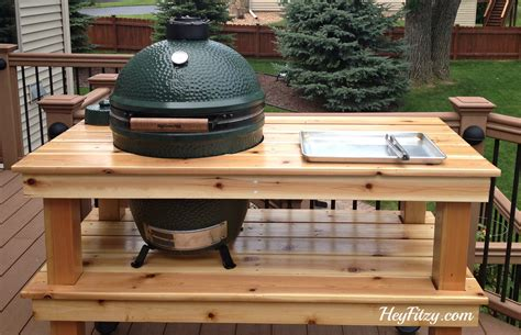 big green egg table plans ideas plans to build a big green egg table brokeasshome com