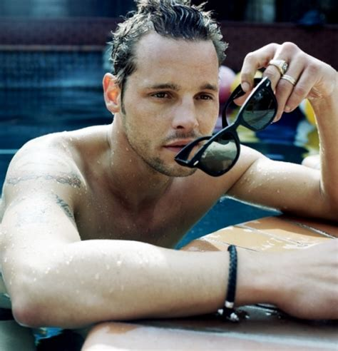 justin chambers tattoos pictures images pics photos of his