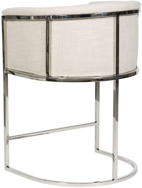 Metal Frame Counter Stools by Harrison Channel Back Metal Frame Counter Stool V972c Cs