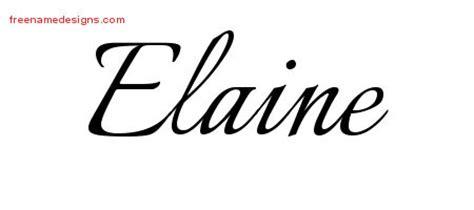 tattoo name elaine elaine archives free name designs