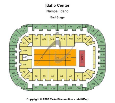 ford center seating chart carrie underwood arena at ford idaho center tickets and arena at ford idaho