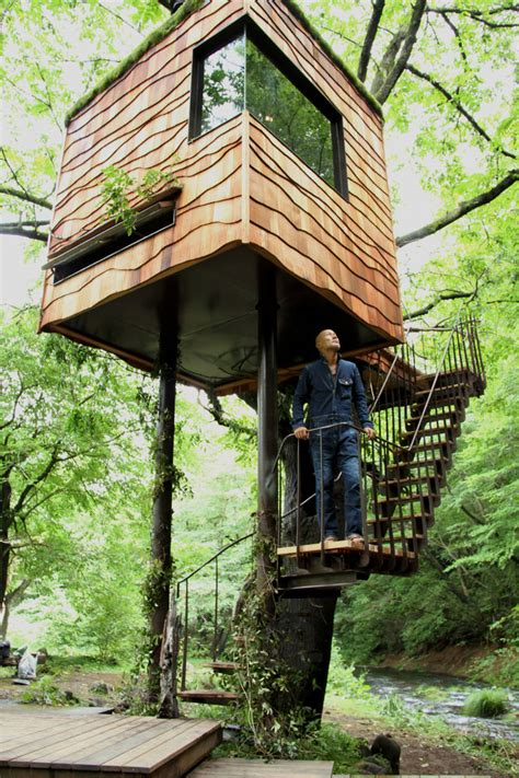 tree house master takashi kobayashi tree house master