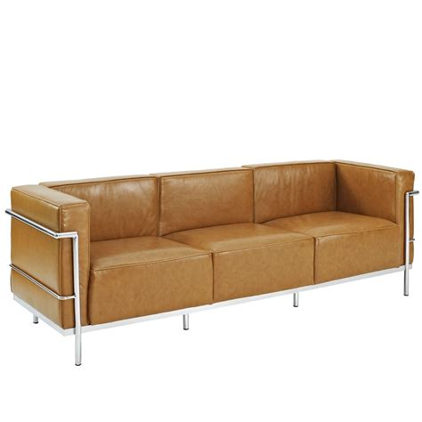 Large Leather Sofa Simple Large Leather Sofa Modern Furniture Brickell Collection