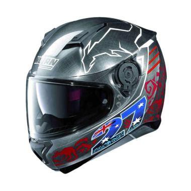 Helm Nolan N44 Evo Como Metal Black Multy Model Not Bell Zeus Shark jual helm nolan harga promo diskon blibli