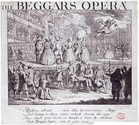 the beggars opera and the first musicals victoria and albert museum