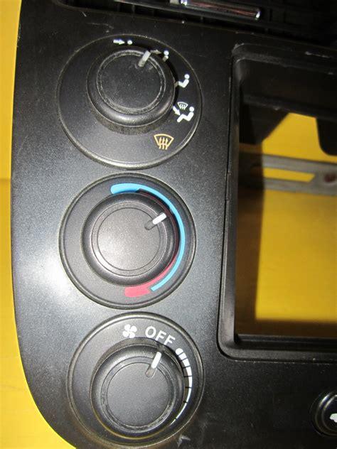 honda civic climate control radio face plate bezel oem  auto parts