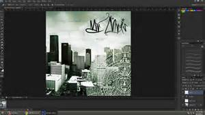 how to make an album cover in photoshop cs6