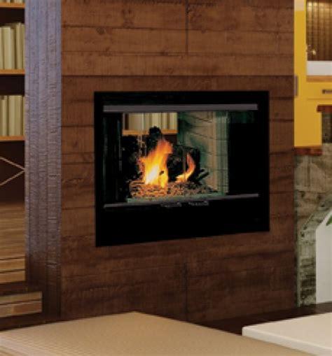 Double Sided Wood Burning Fireplace   NeilTortorella.com