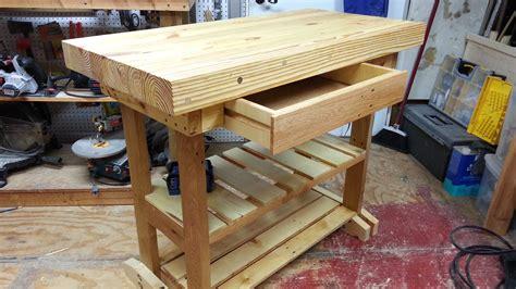 workbench  drawer  pallet wood complete carpenter