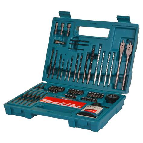 Drill Bit Set makita b 53811 makita 100 drill screwdriver bit set