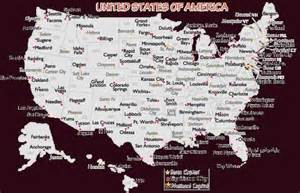 map of the united states and major cities map of the united states major cities map