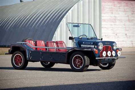 A New Sort Of Mini Moke by Friday Car Crush Mini Moke Influx Magazine