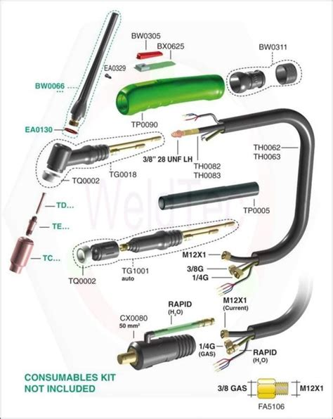 tig torch parts diagram tig torch parts welding tig torch and torches