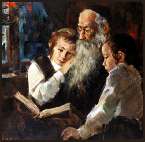 the rabbis teaching the youth concerning the futuristic