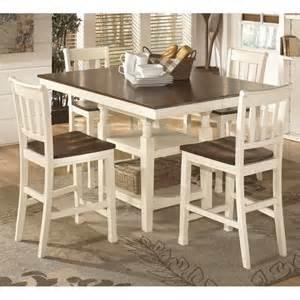 ashley whitesburg 5 piece dining set image