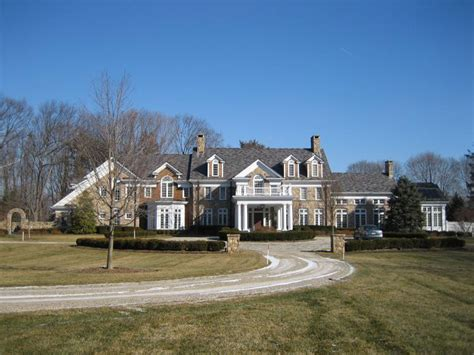 Jersey House by Todd Christie S Mendham Nj Mansion Homes Of The Rich
