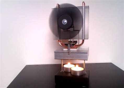 thermoelectric fan powered by a candle thermoelectric generator powered by a candle youtube
