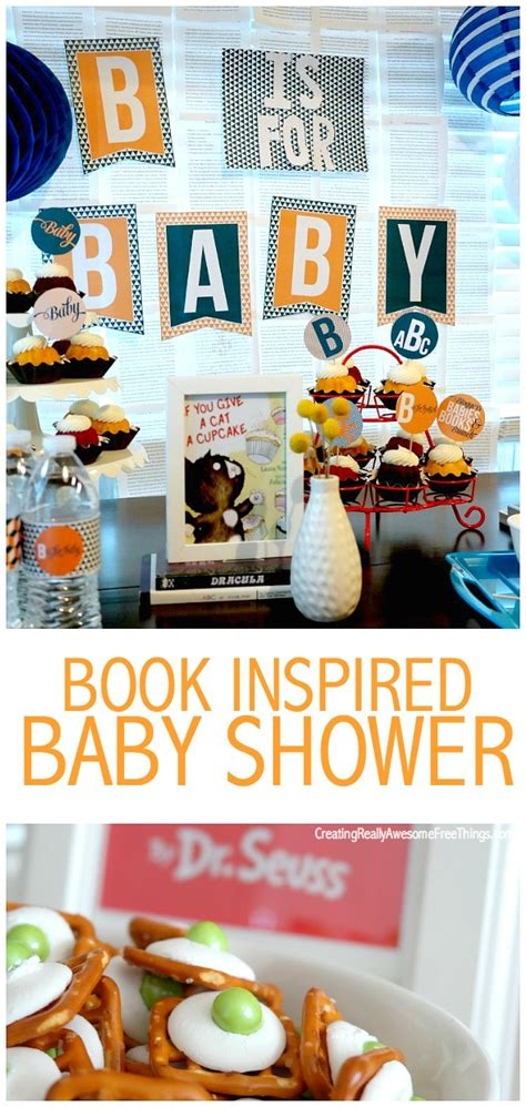 themes a book can have book inspired baby shower c r a f t