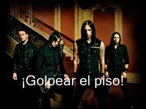 bullet for my valentine hit the floor subtitulos espa 241 ol youtube