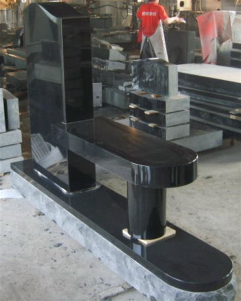 black granite bench granite benches richardson monument co inc