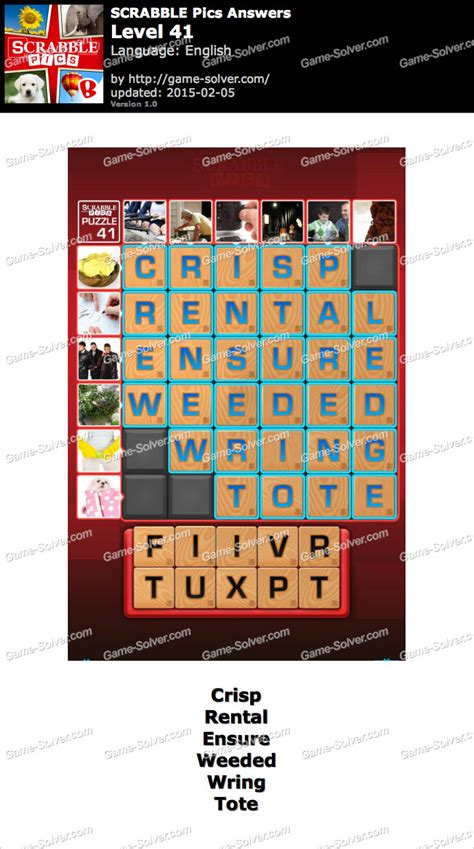 scrabble answer generator scrabble pics level 41 solver