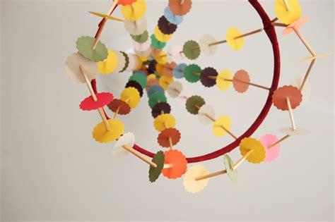 Handmade Paper Chandelier - wren handmade paper chandelier craze