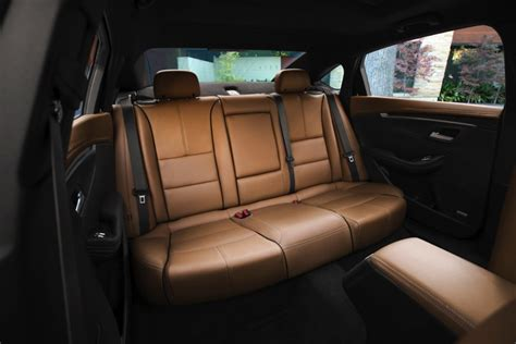 2014 chevy impala back seat covers 2014 impala interior space is thanks to new tools