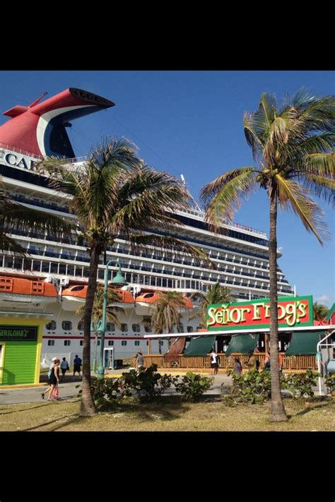freeport cruise freeport bahamas arrived here on a carnival cruise ship