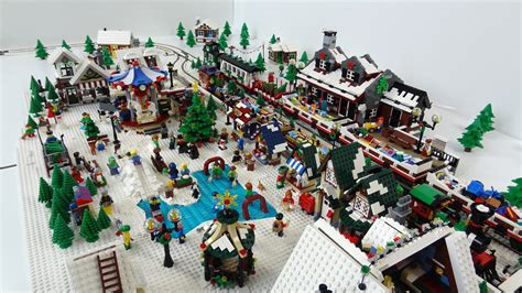 Star Wars Decor an early winter village lego town eurobricks forums