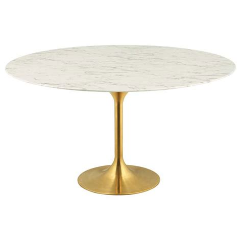 odyssey dining table odyssey 60 quot gold faux marble dining table eurway
