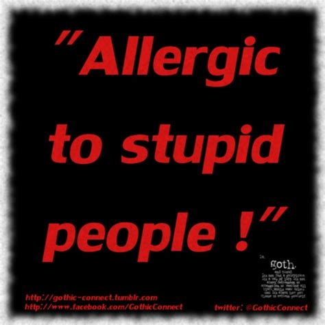 Alergi To Stupid 18 best quotes of the day images on depression