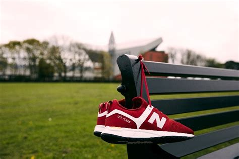 Lfc New Balance Court Traditional Trainers lfc and new balance launch footwear range with new trainer liverpool fc