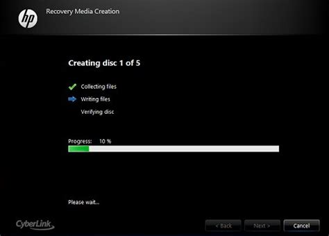 resetting hp recovery disc creation hp recovery disk guide for windows xp vista 7 8