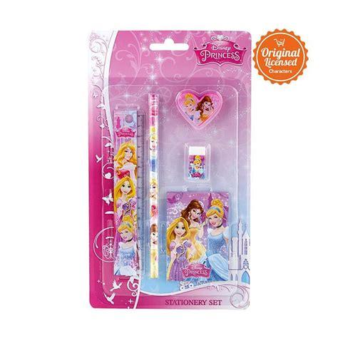 Disney Princess Stationerry Set jual disney princess stationery set alat tulis
