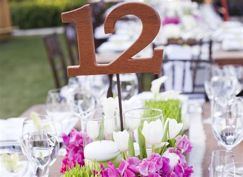 Wedding Table Number Ideas Wedding Reception Table Numbers Inside Weddings
