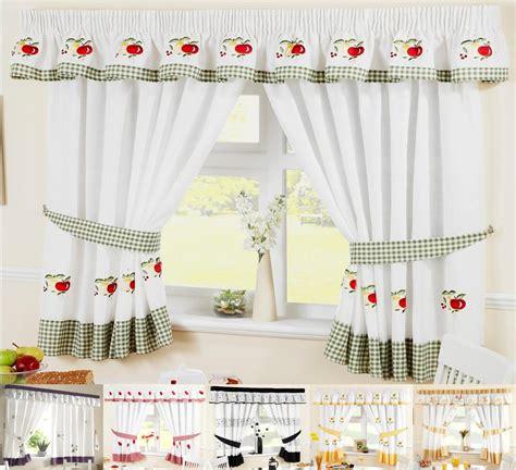 kitchen curtain design ideas kitchen window curtains inc free tiebacks many sizes