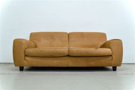 Italian Sofa Leather Vintage Italian Leather Sofa From Molinari For Sale At Pamono