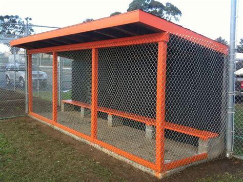 backyard dugout building a baseball dugout williams field winter clean