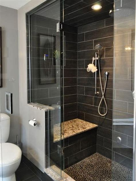 dark tile bathroom ideas 40 gray shower tile ideas and pictures