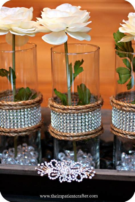 simple elegant table settings 84 best rhinestone ribbon ideas images on pinterest