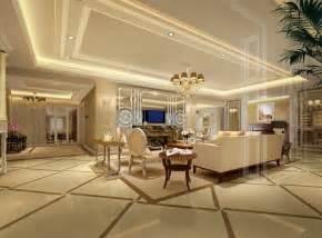 Interior of modern luxury kitchen 3d render from luckyphoto royalty