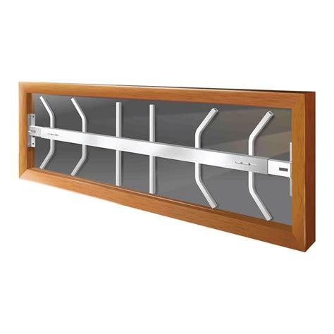 swing away window bars mr goodbar fixed 42 in to 54 in adjustable width 3 bar